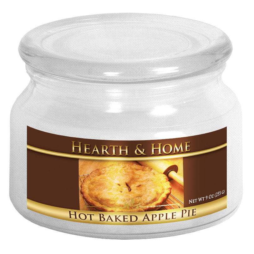 Hot Baked Apple Pie - Small Jar Candle