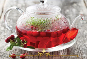 Hot Cranberry Tea Scented Candles