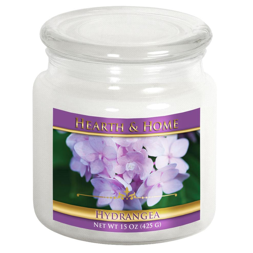 Hydrangea - Medium Jar Candle