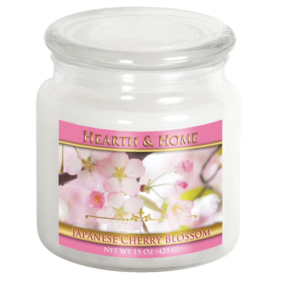 Japanese Cherry Blossom - Medium Jar Candle