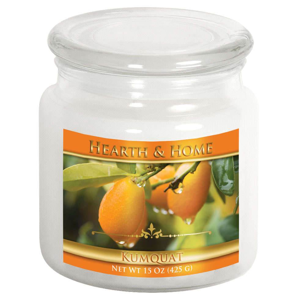 Kumquat - Medium Jar Candle