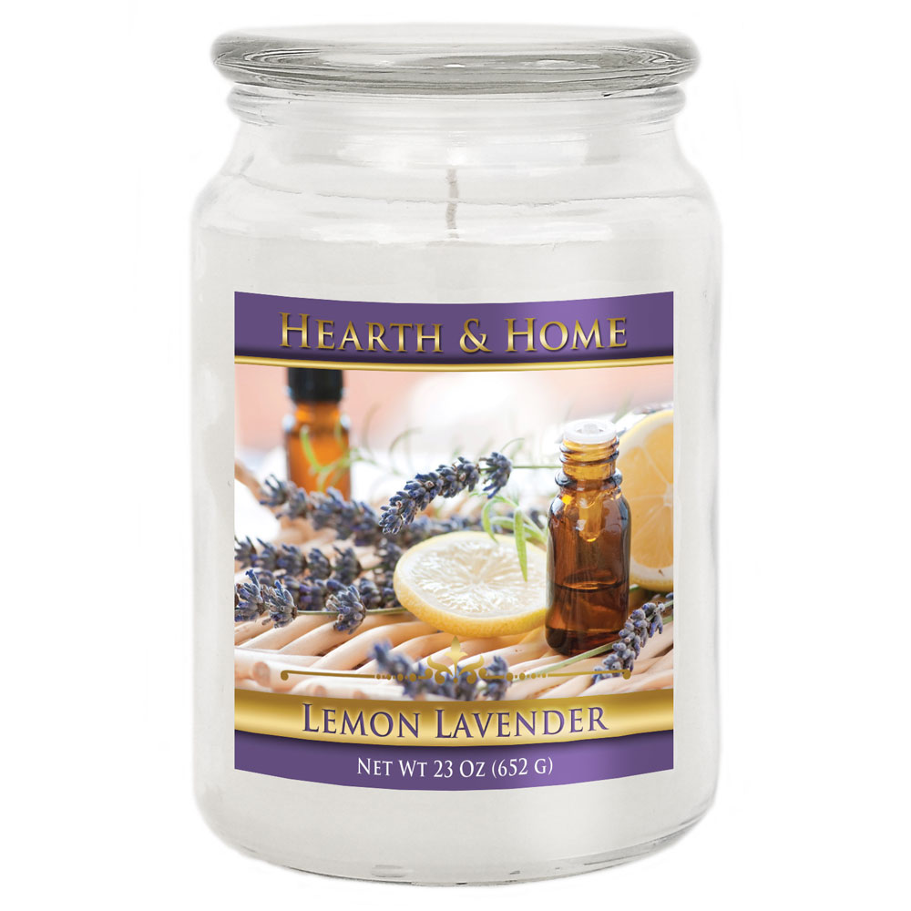 Lemon Lavender - Large Jar Candle