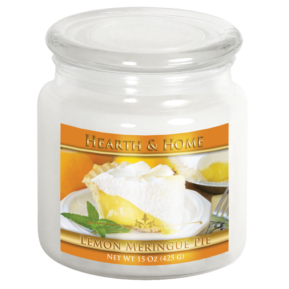 Lemon Meringue Pie - Medium Jar Candle