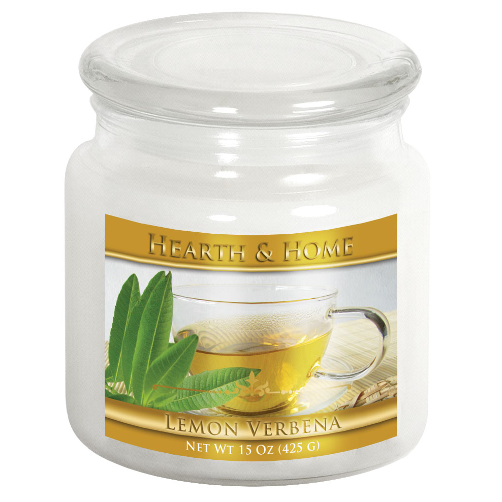 Lemon Verbena - Medium Jar Candle