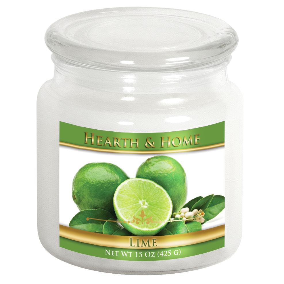 Lime - Medium Jar Candle