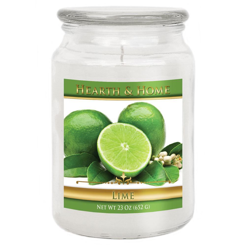 Lime - Large Jar Candle