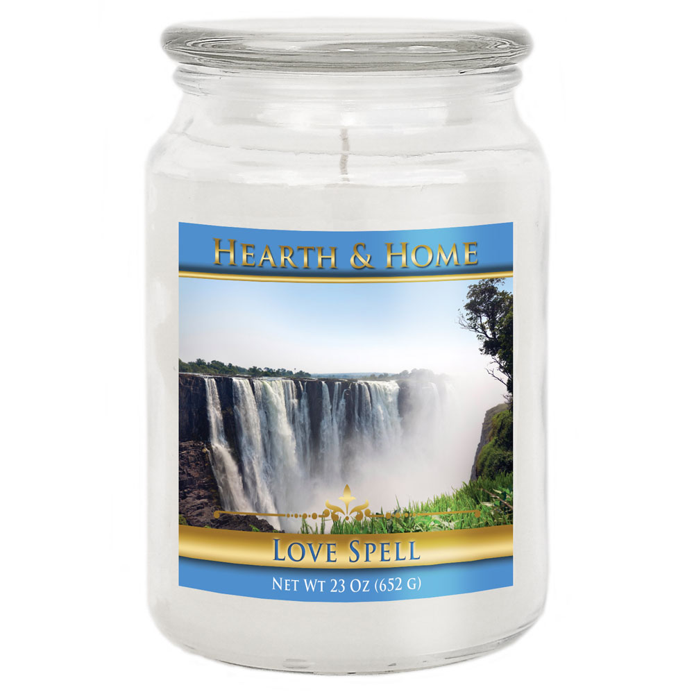 Love Spell - Large Jar Candle