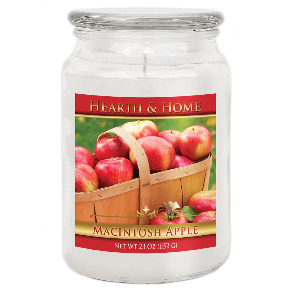 Macintosh Apple - Large Jar Candle