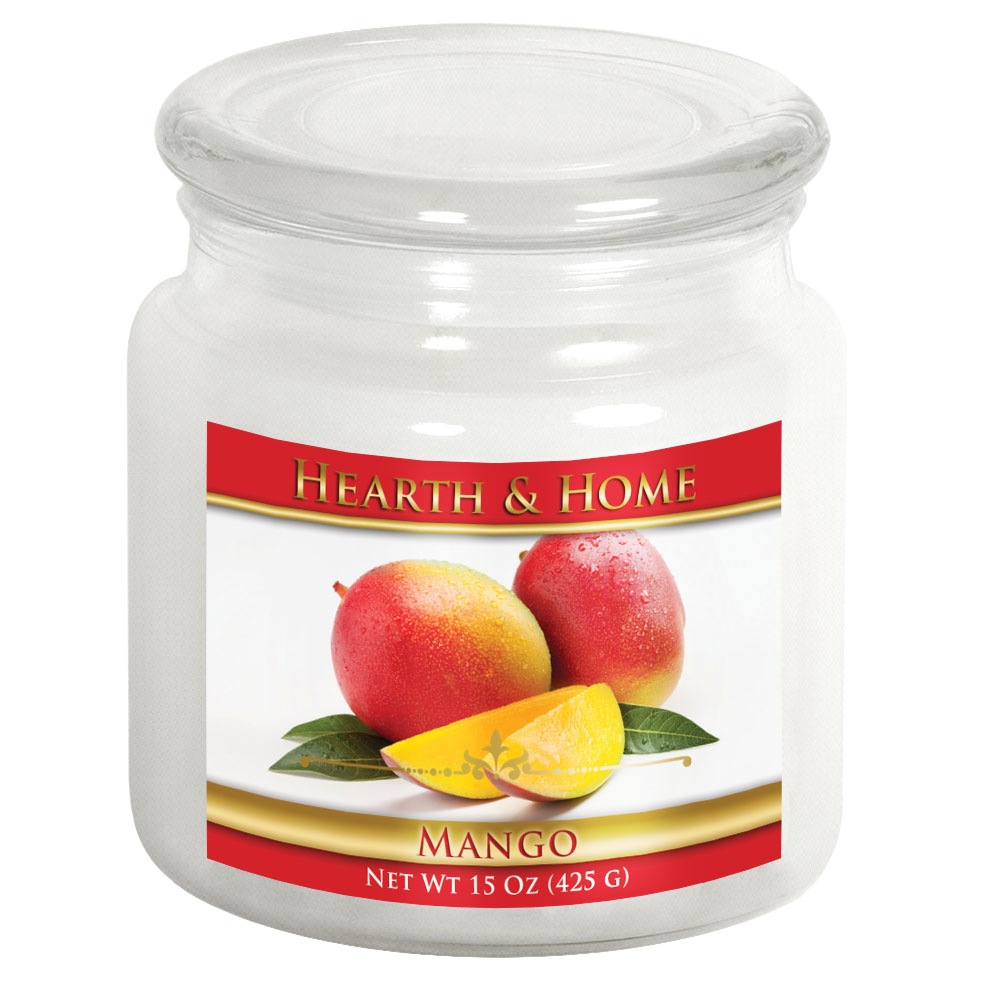 Mango - Medium Jar Candle
