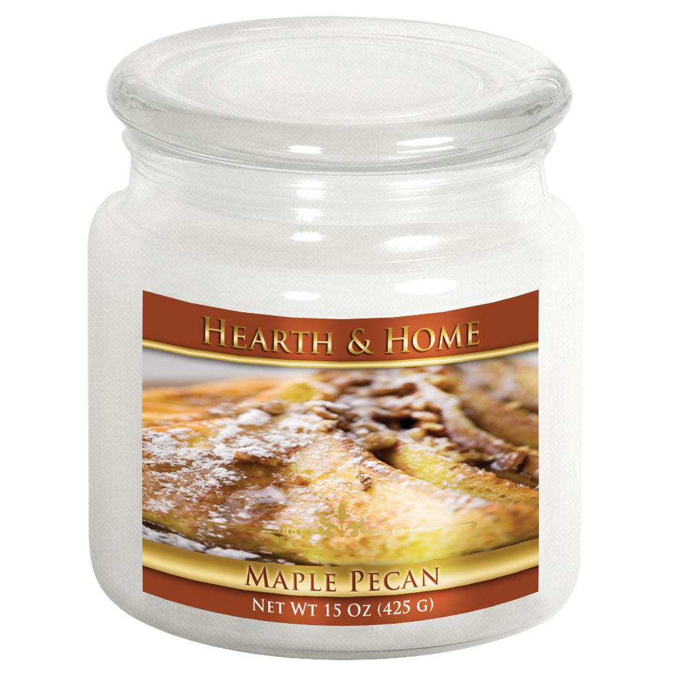 Maple Pecan - Medium Jar Candle