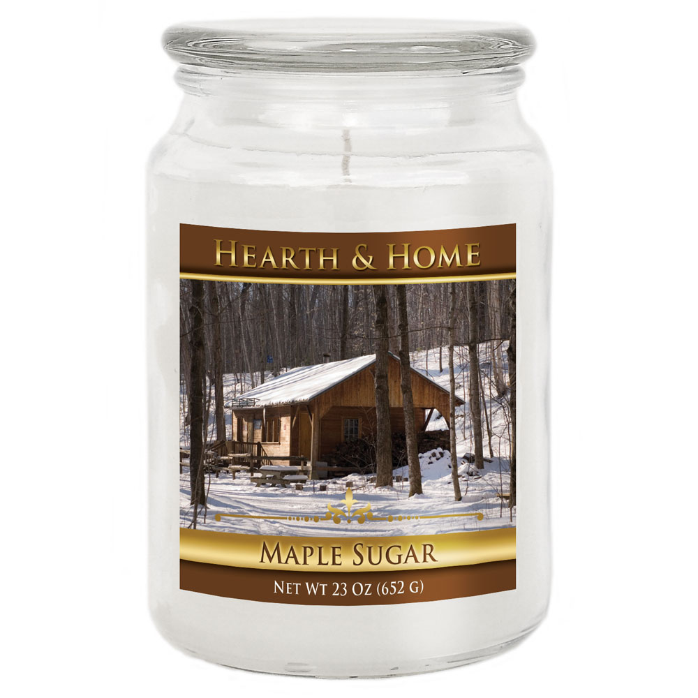 Maple Sugar - Large Jar Candle