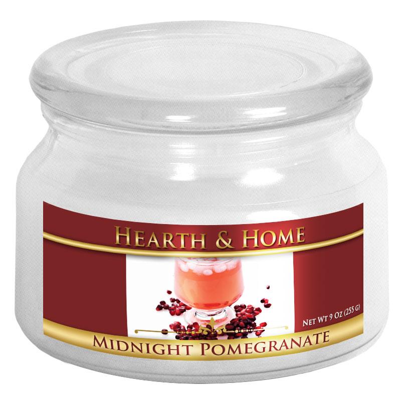 Midnight Pomegranate - Small Jar Candle