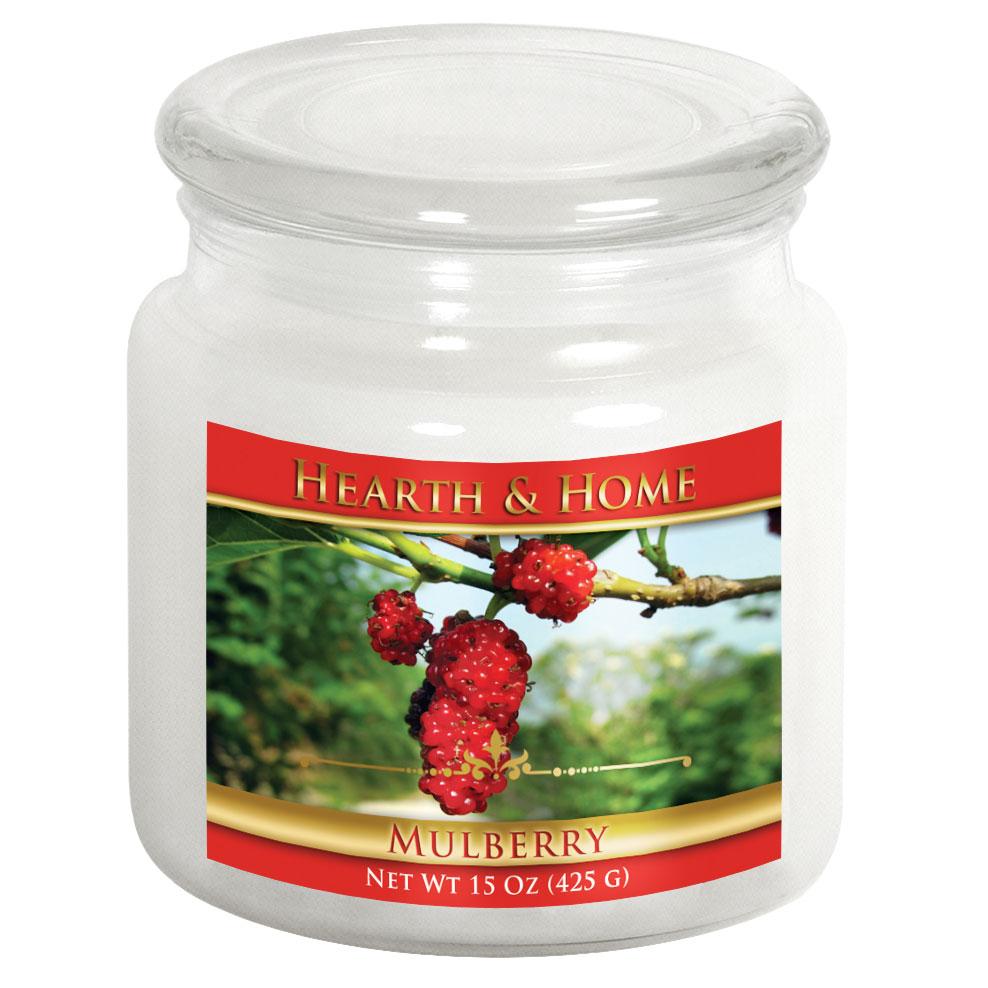 Mulberry - Medium Jar Candle