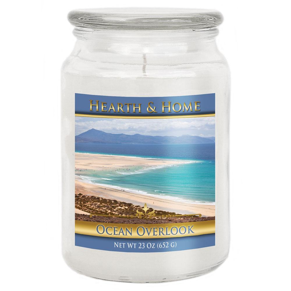 Ocean Overlook - Large Jar Candle