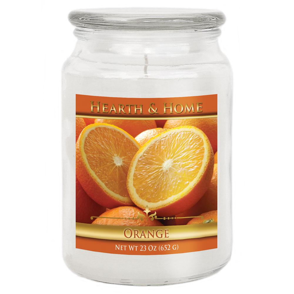 Orange - Large Jar Candle