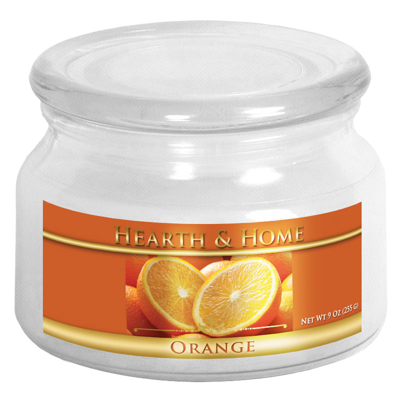 Orange - Small Jar Candle