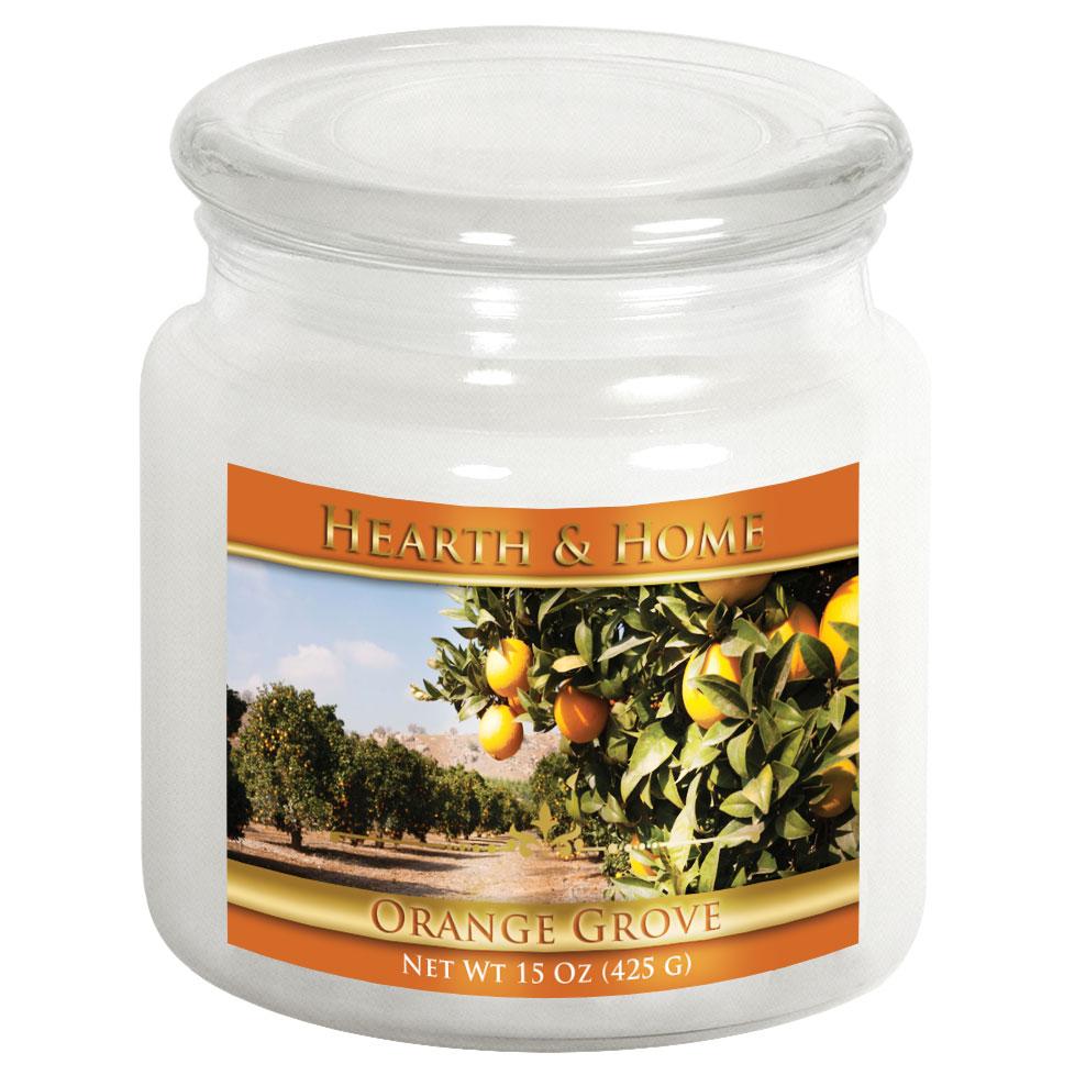 Orange Grove - Medium Jar Candle