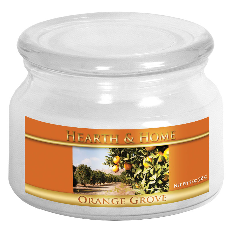 Orange Grove - Small Jar Candle
