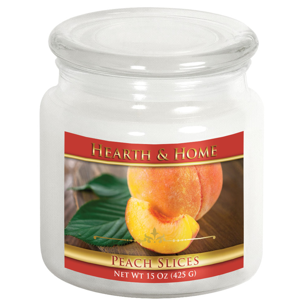 Peach Slices - Medium Jar Candle