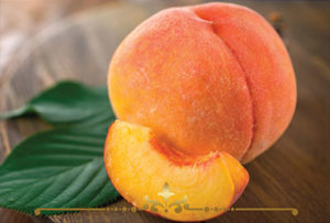 Peach Slices Scented Candles