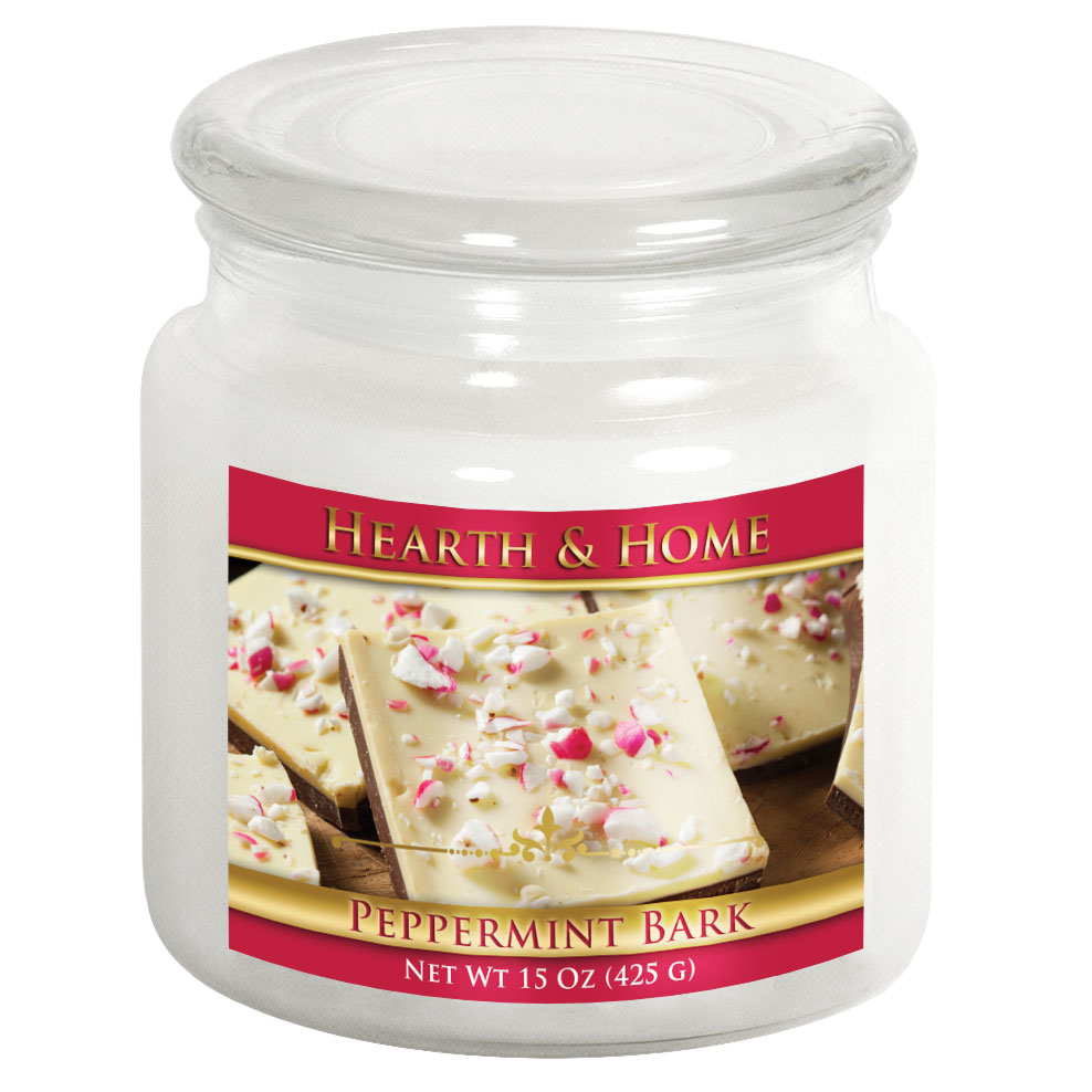 Peppermint Bark - Medium Jar Candle