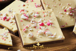 Peppermint Bark Scented Candles