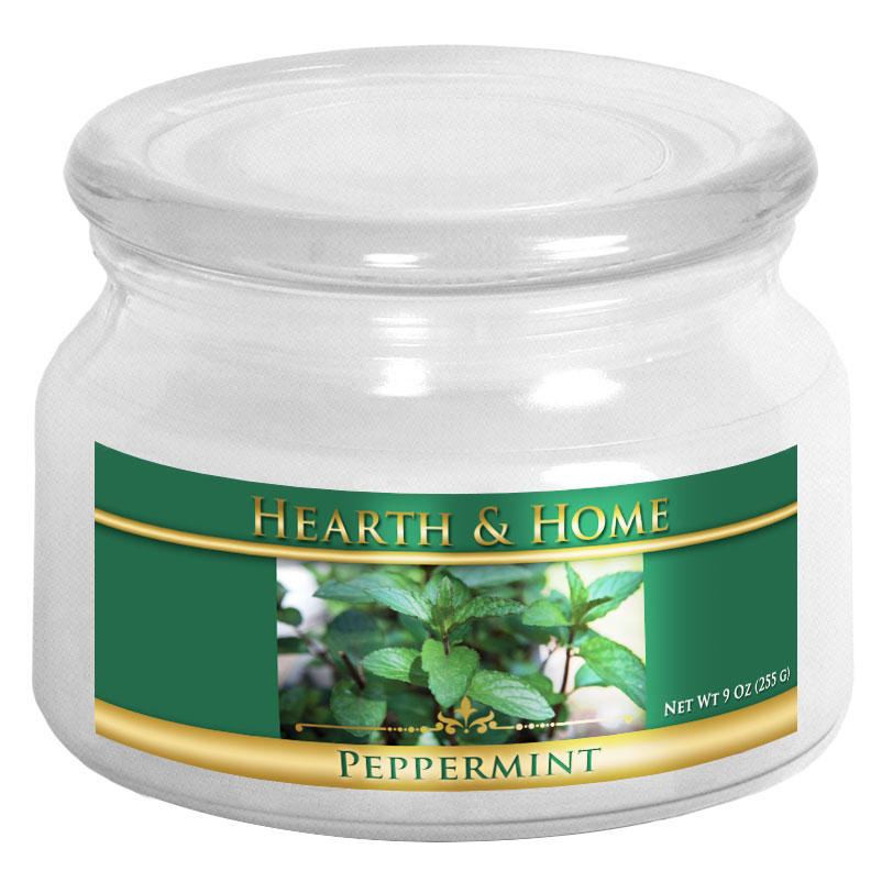 Peppermint - Small Jar Candle