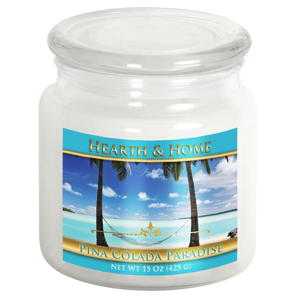 Pina Colada Paradise - Medium Jar Candle