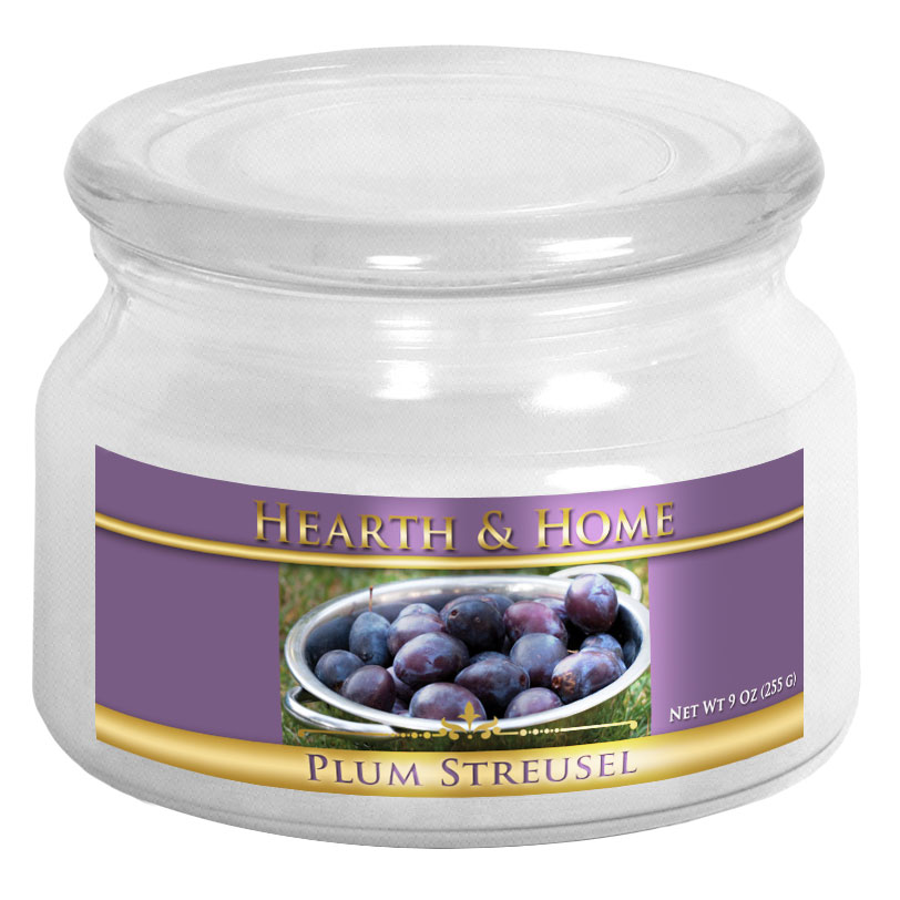 Plum Streusel - Small Jar Candle