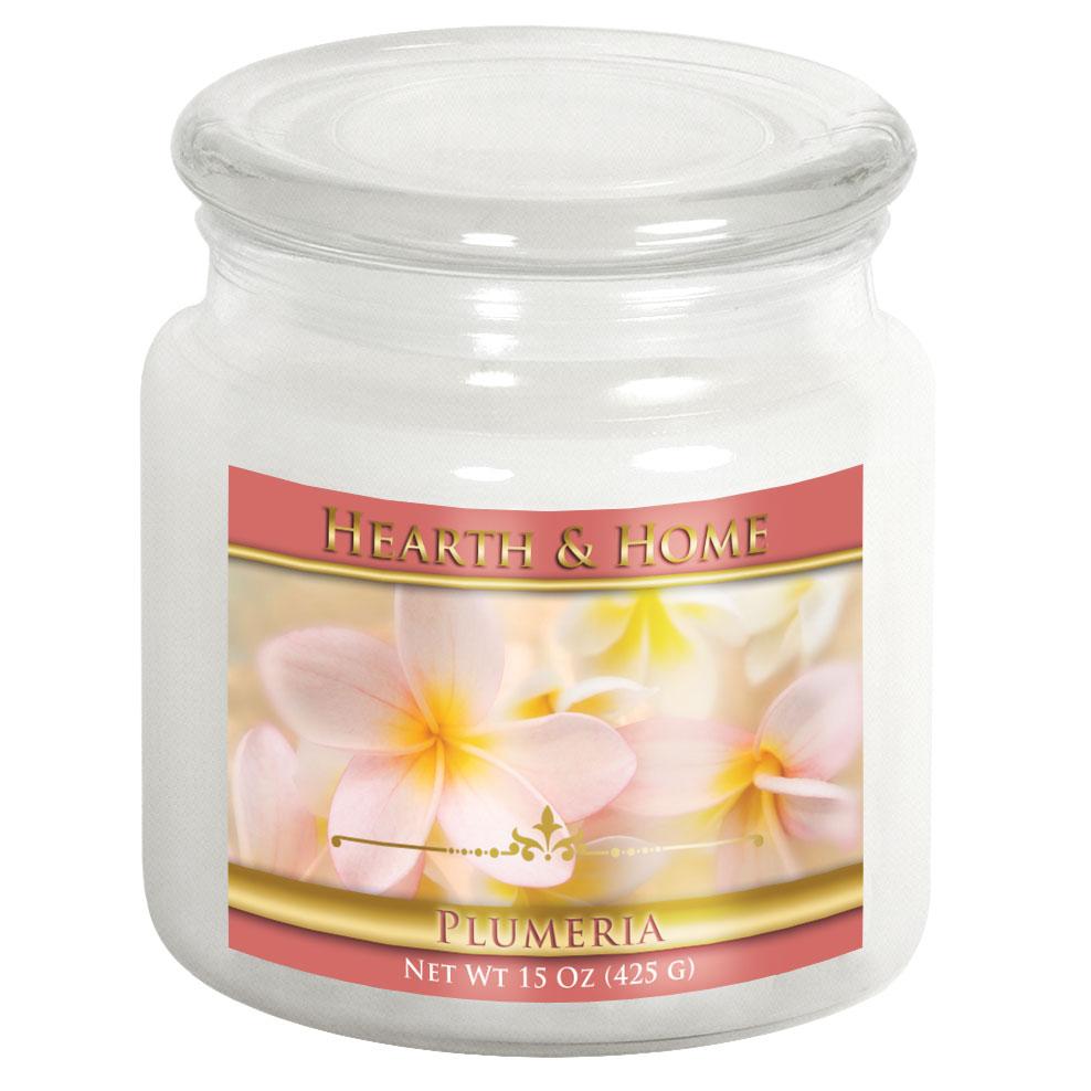 Plumeria - Medium Jar Candle