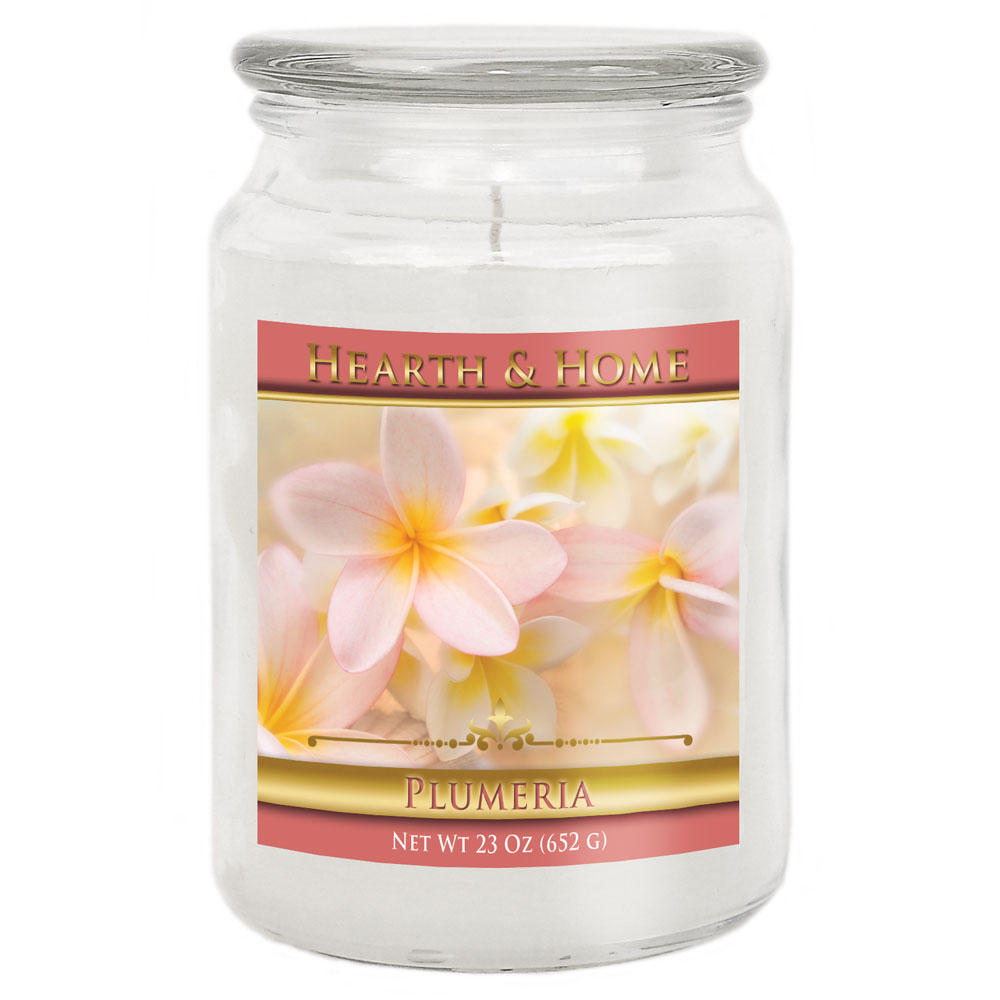 Plumeria - Large Jar Candle