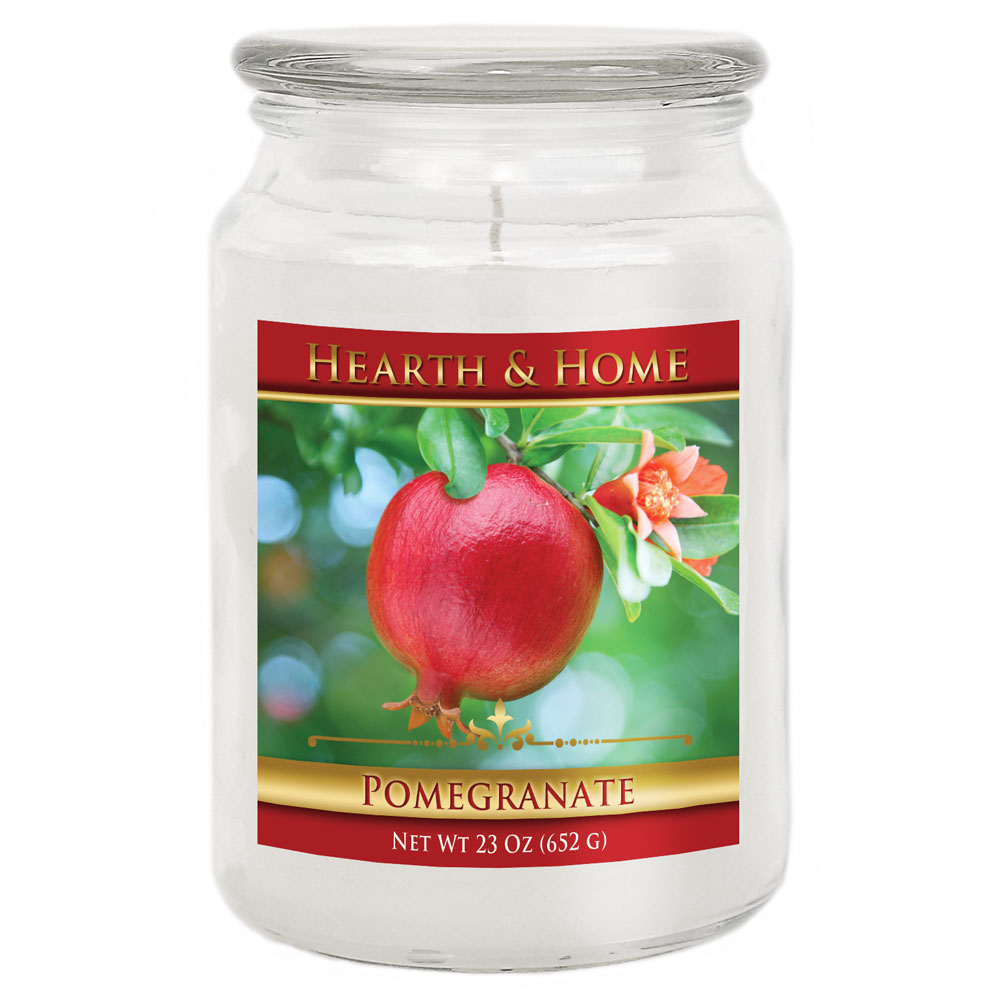 Pomegranate - Large Jar Candle