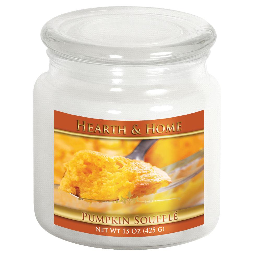 Pumpkin Soufflé - Medium Jar Candle