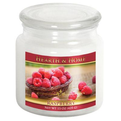 Raspberry - Medium Jar Candle