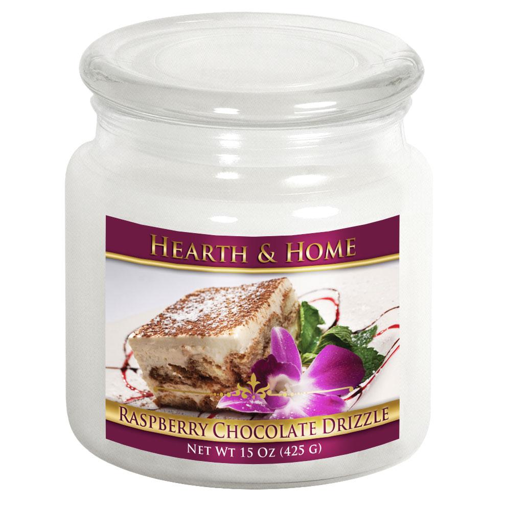 Raspberry Chocolate Drizzle - Medium Jar Candle