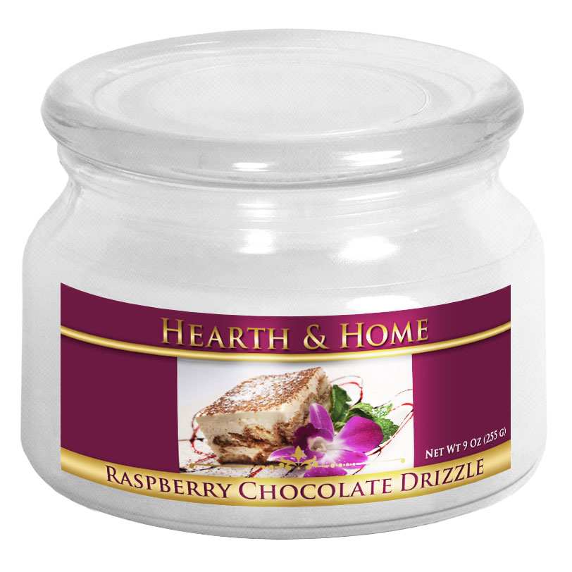 Raspberry Chocolate Drizzle - Small Jar Candle