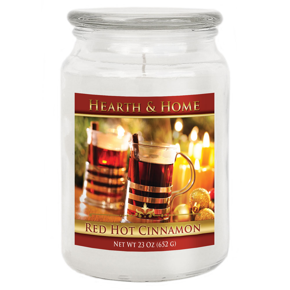 Red Hot Cinnamon - Large Jar Candle