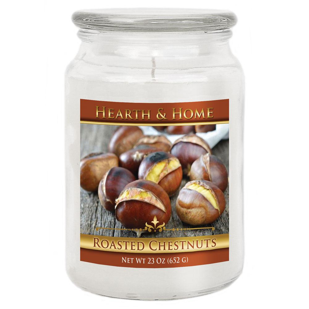 Roasted Chestnuts - Large Jar Candle
