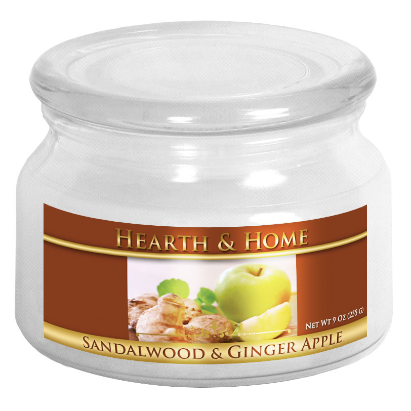 Sandalwood & Ginger Apple - Small Jar Candle