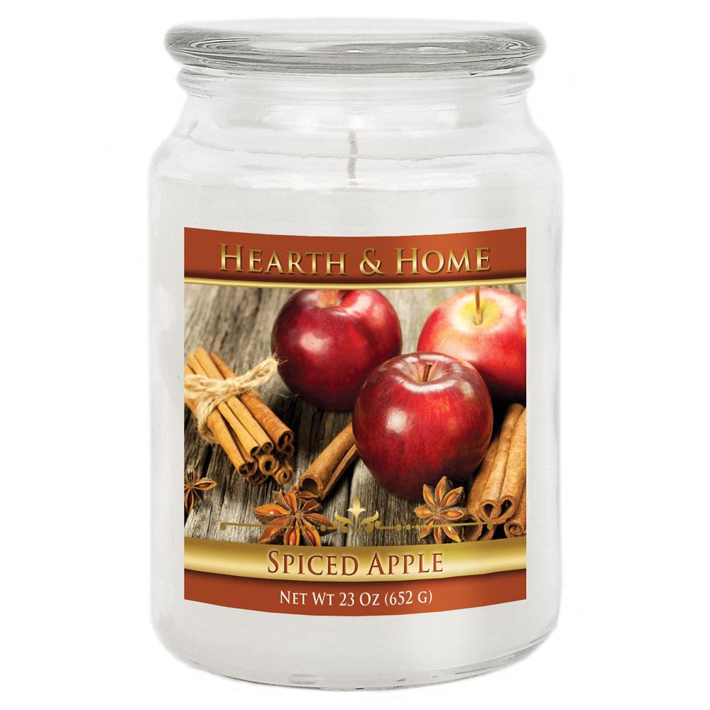 Spiced Apple - Large Jar Candle