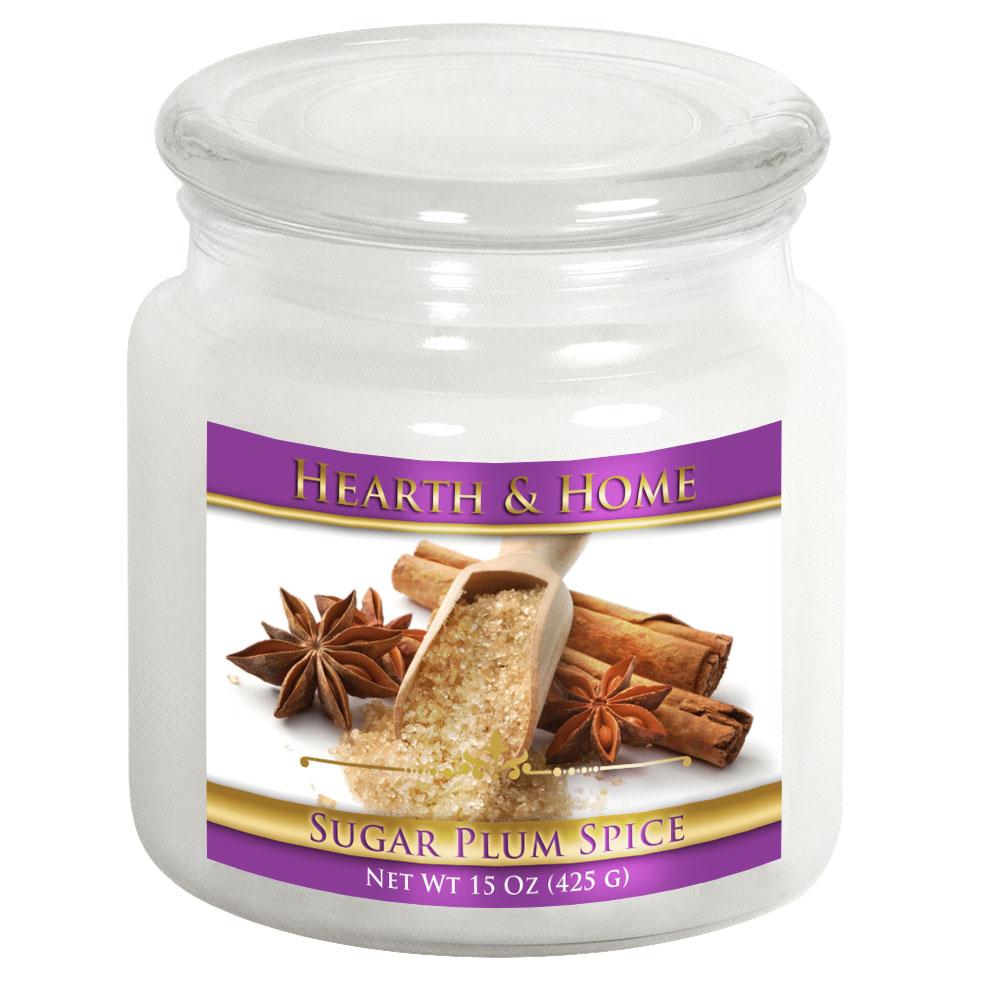Sugar Plum Spice - Medium Jar Candle