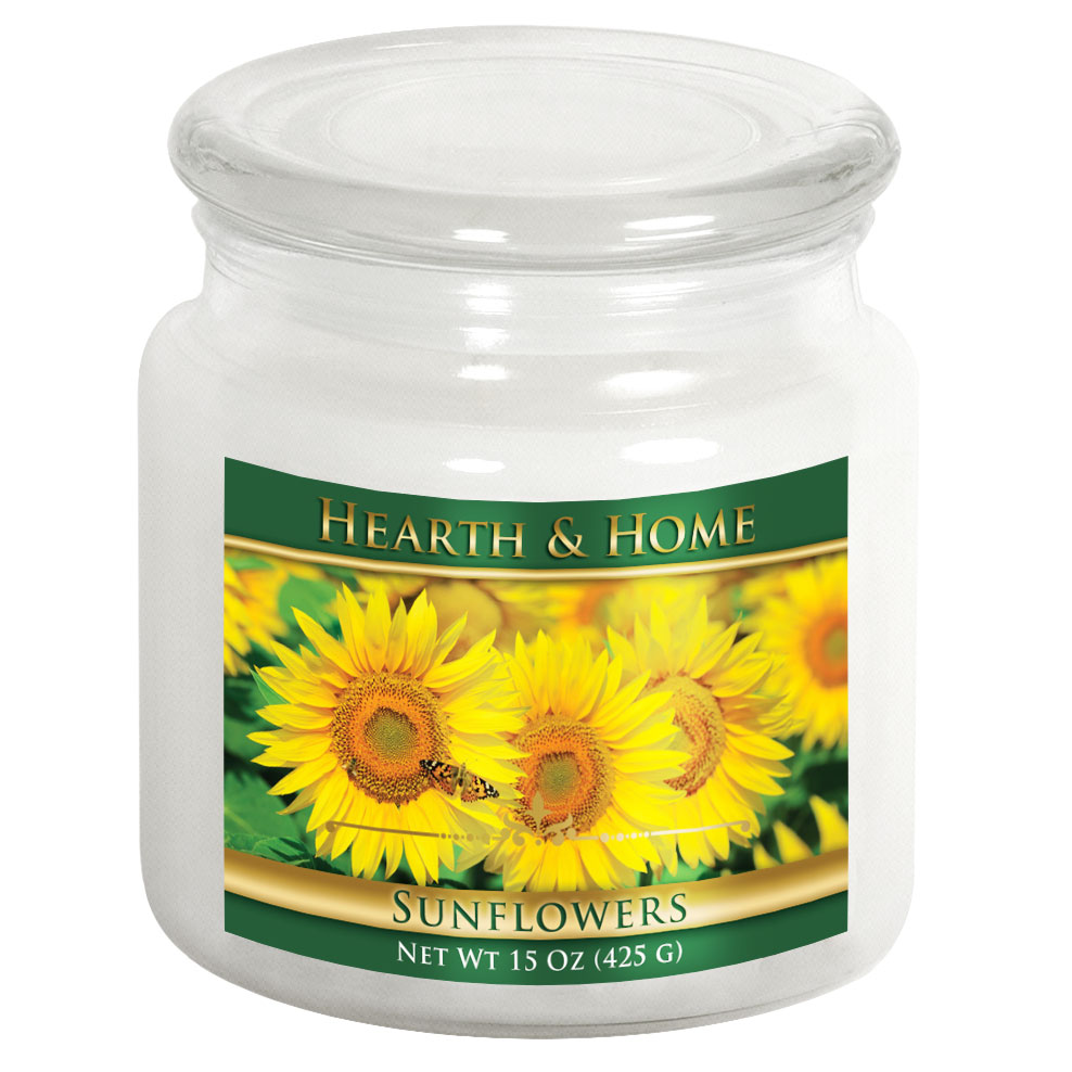 Sunflowers - Medium Jar Candle