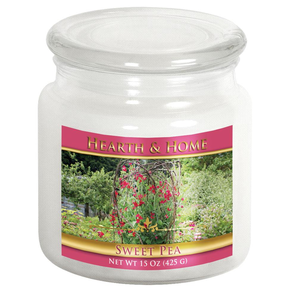 Sweet Pea - Medium Jar Candle