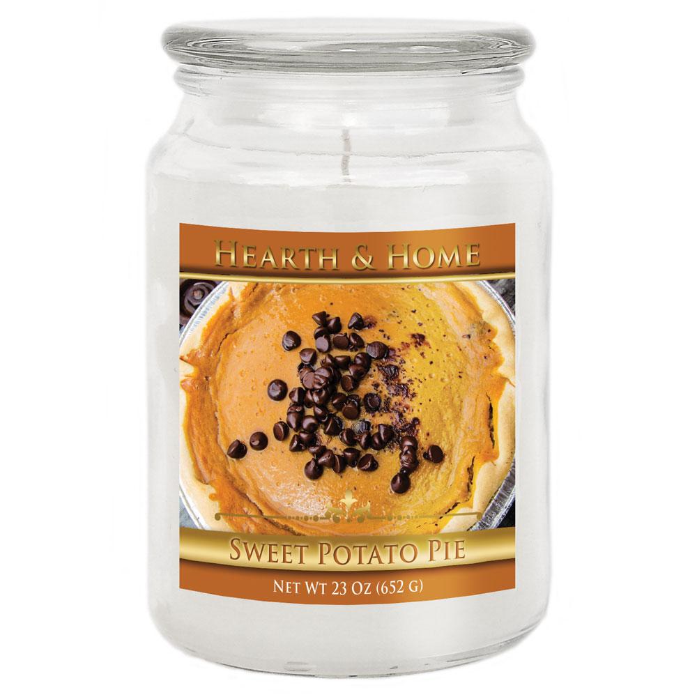 Sweet Potato Pie - Large Jar Candle