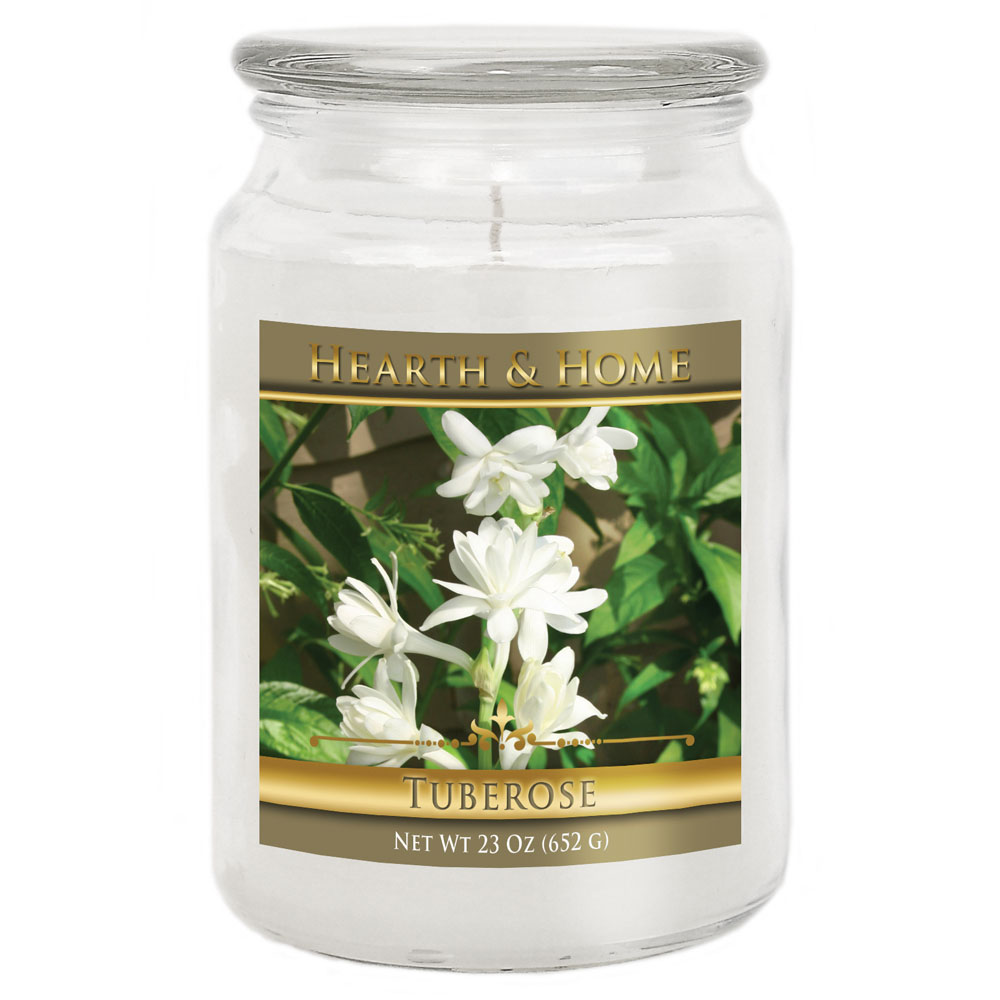 Tuberose - Large Jar Candle