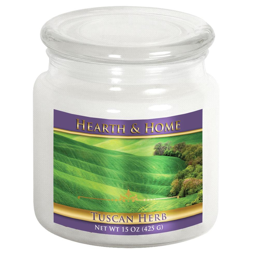 Tuscan Herb - Medium Jar Candle