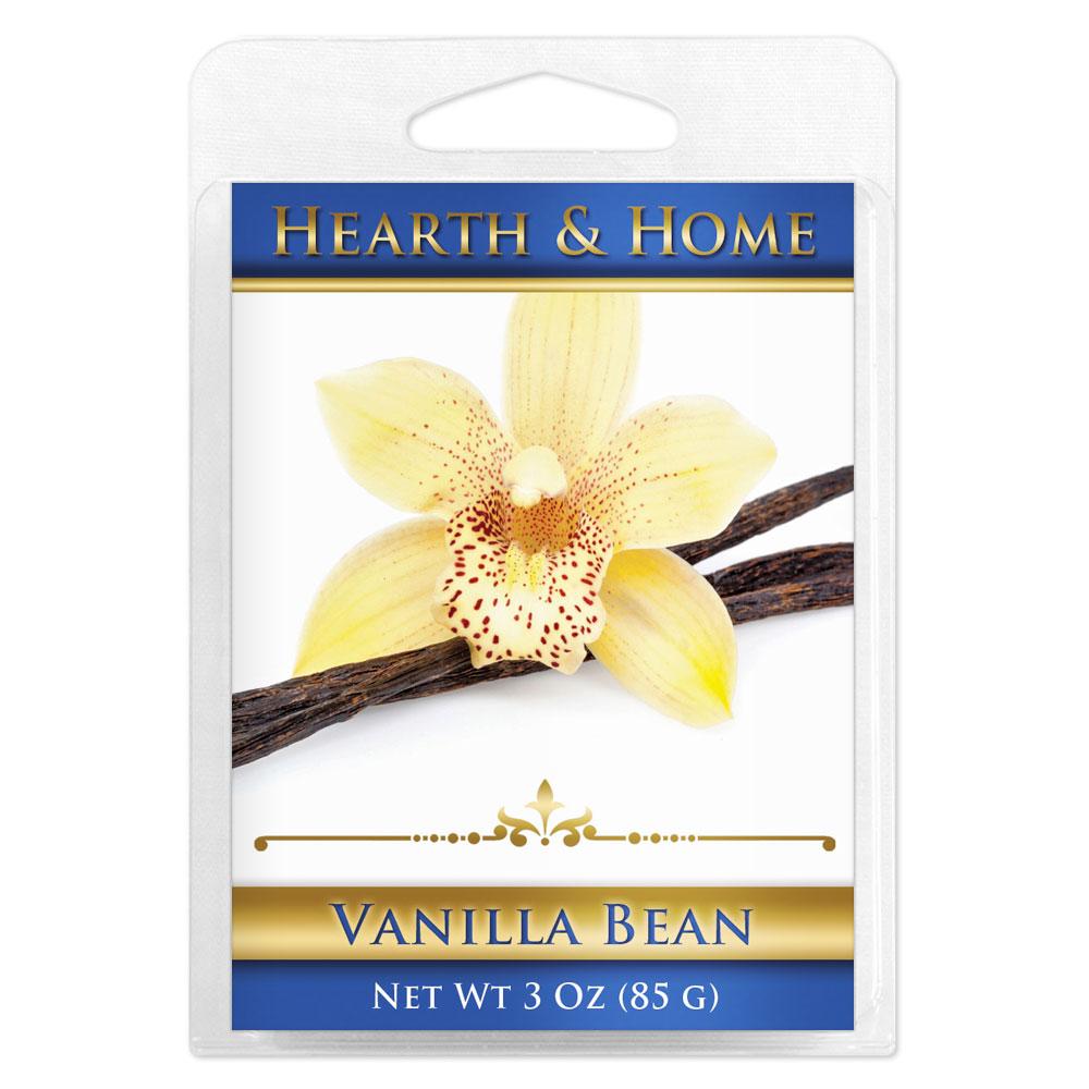 Vanilla Bean Scented Wax Melt Cubes - 6 Pack