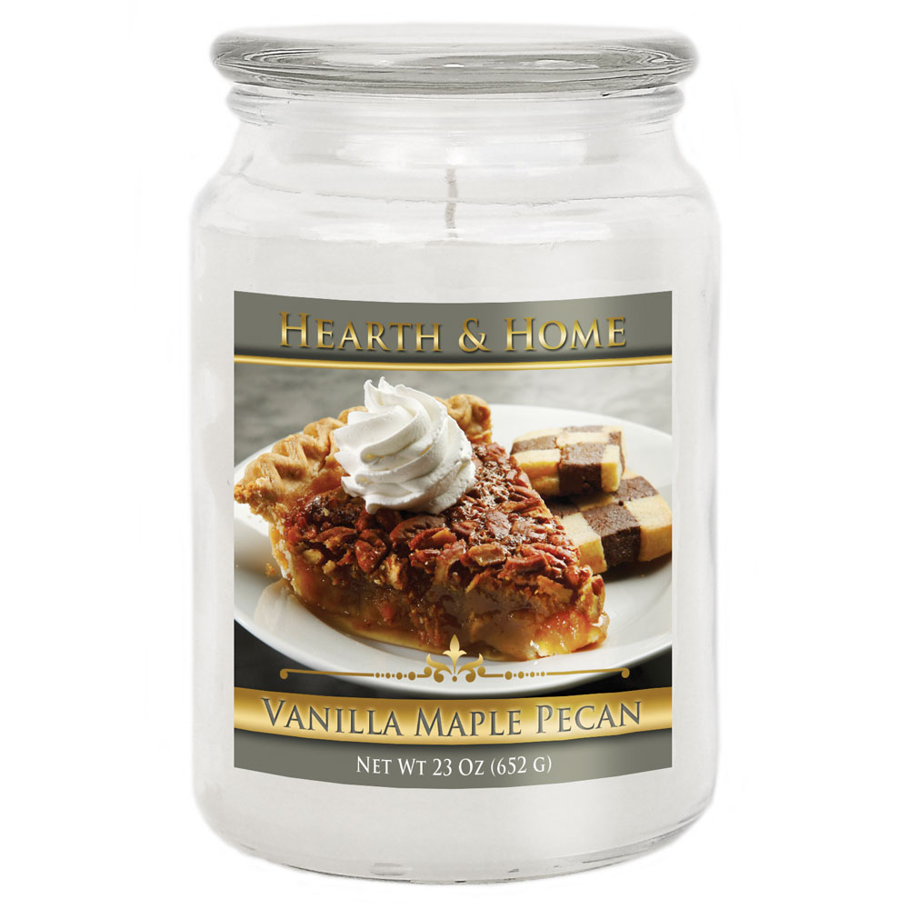 Vanilla Maple Pecan - Large Jar Candle
