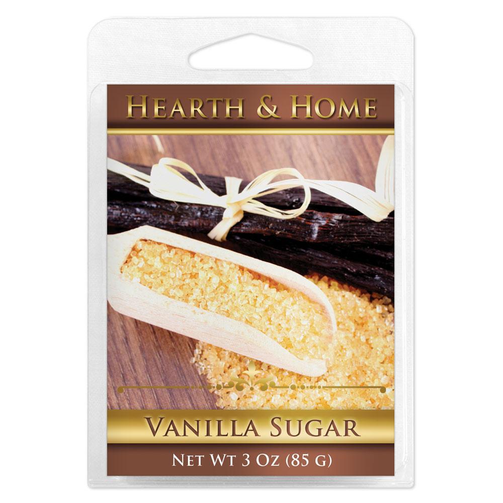 Vanilla Sugar Scented Wax Melt Cubes - 6 Pack