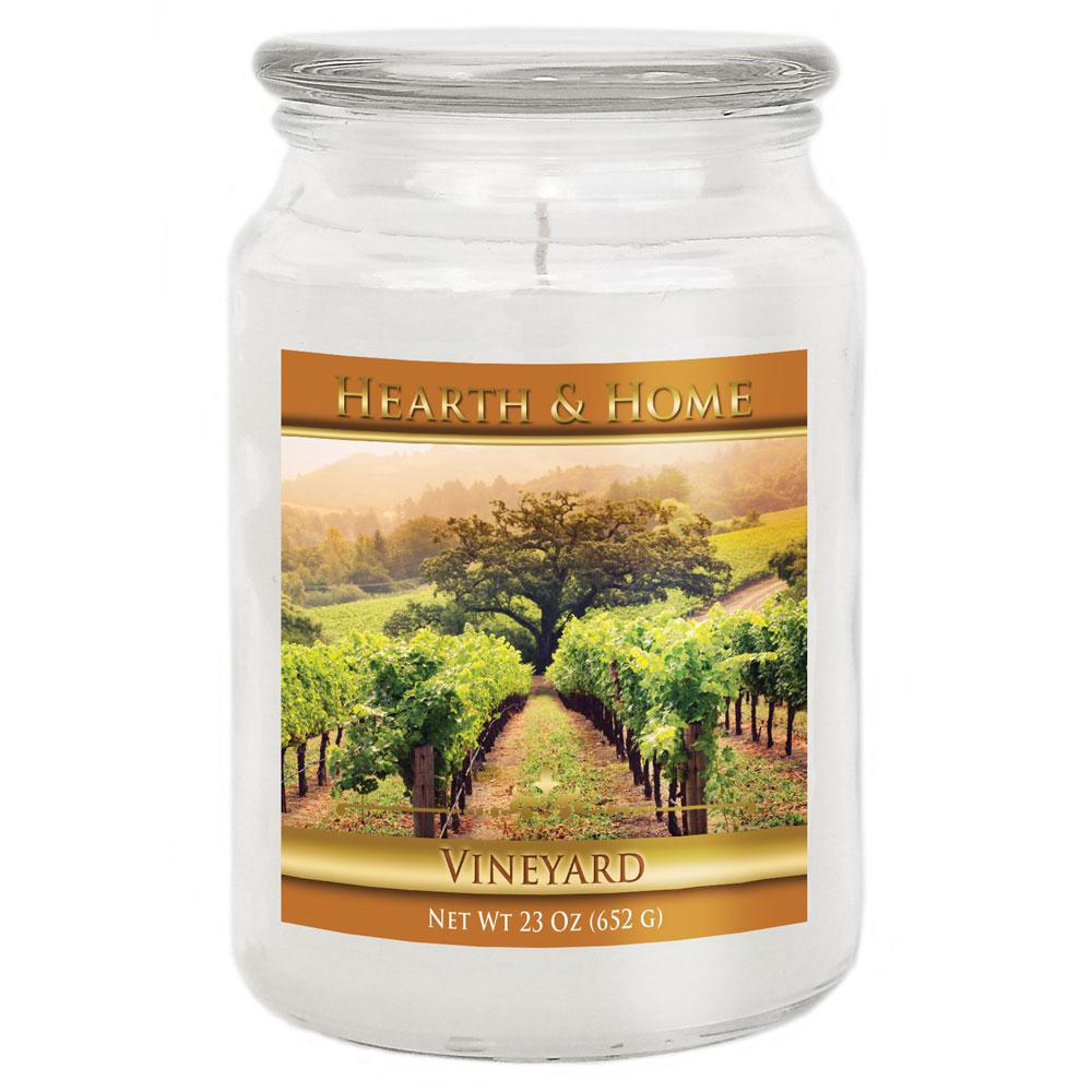 Vineyard - Large Jar Candle